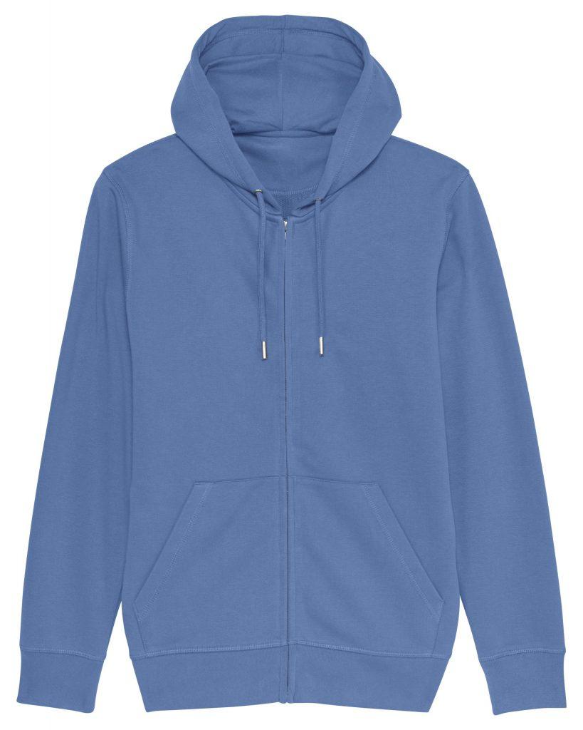 Blauw vest voorkant