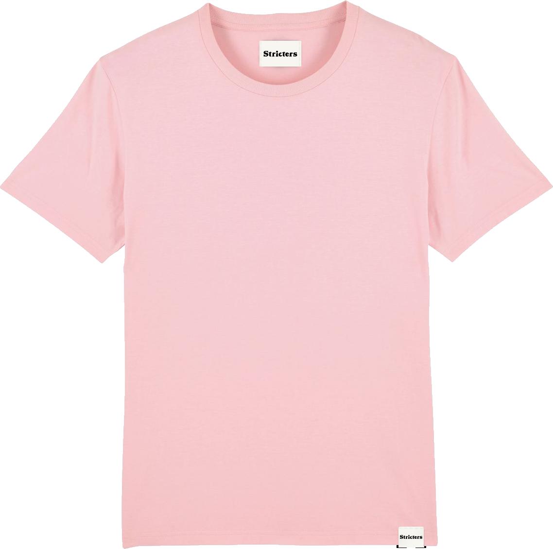 Duurzame kleding voorbeeld: roze shirt
