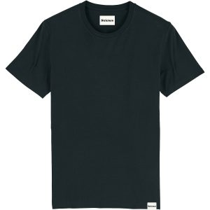 Duurzaam t-shirt jet black