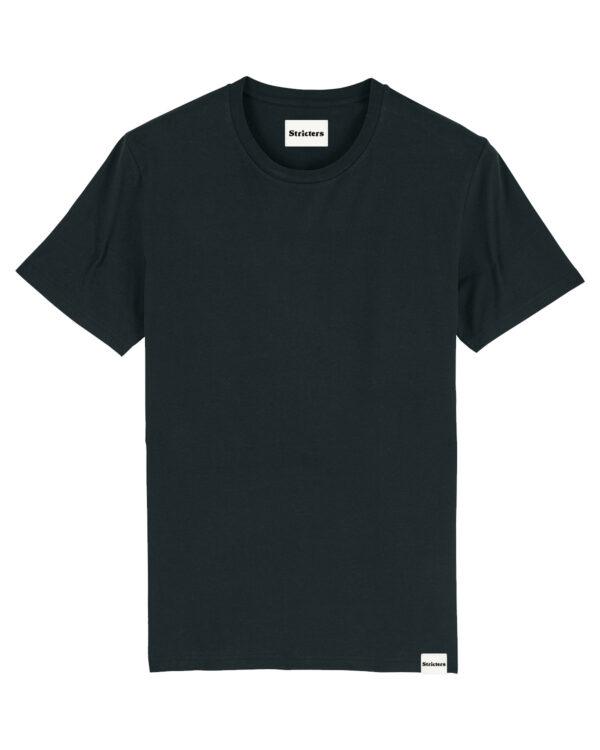 Duurzaam t-shirt jet black
