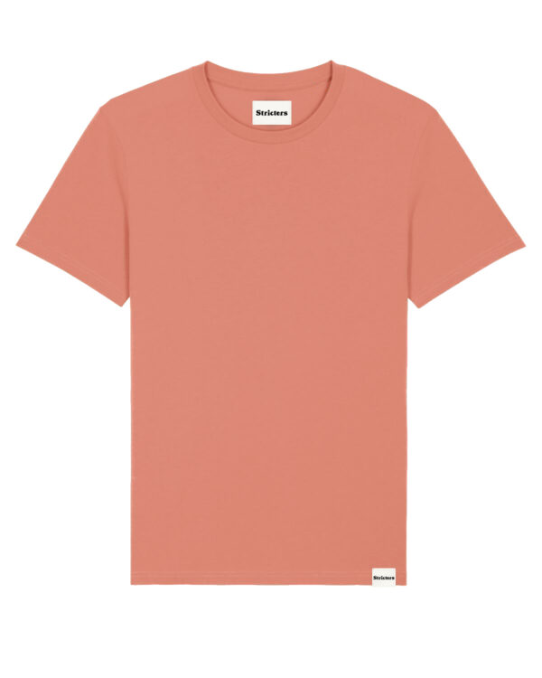 Duurzaam t-shirt red clay