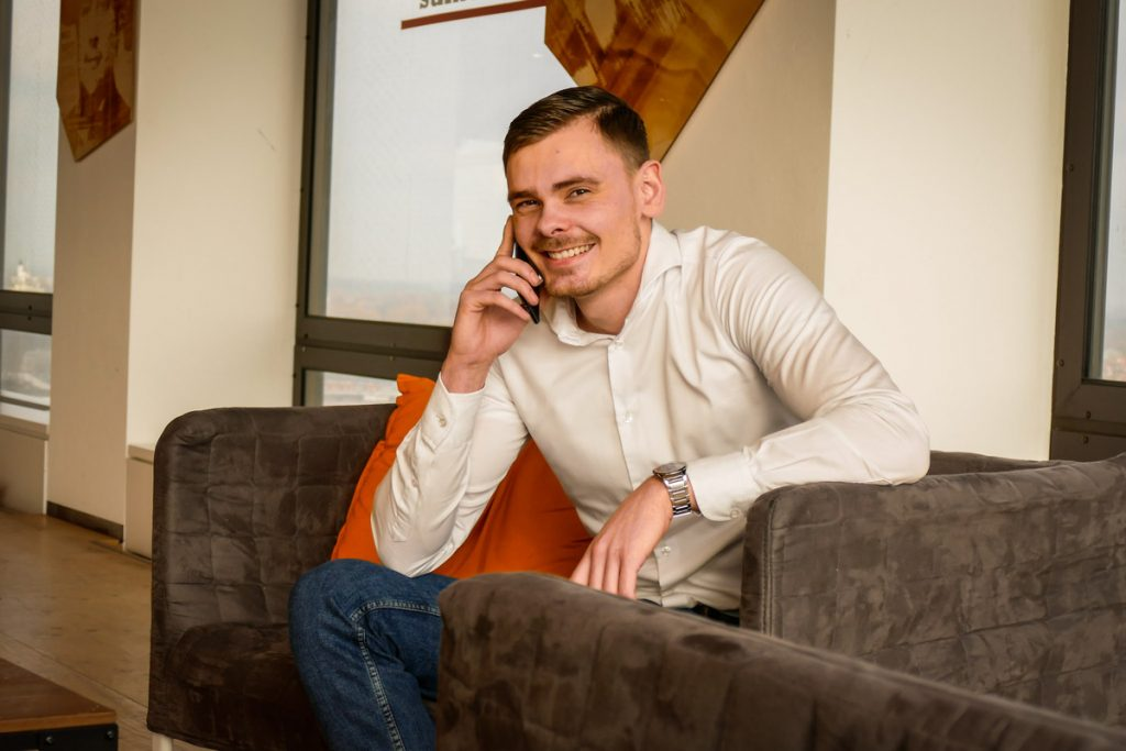 Thijs, account manager